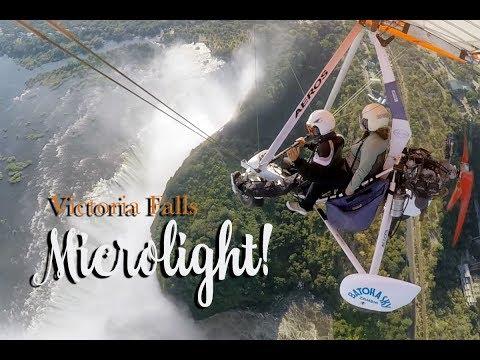 Victoria Falls Microlite Flight over the mighty Zambezi River