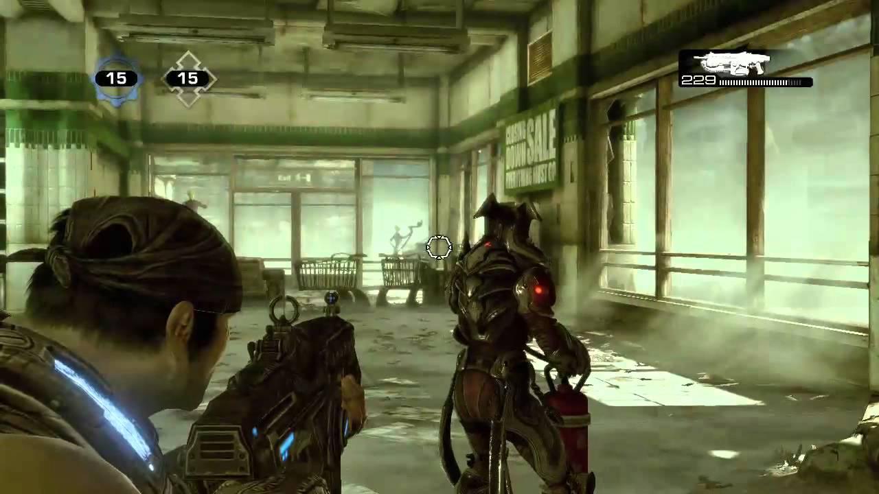 Gears Of War 3 Dancing Wretch Easter Egg Rooster Teeth Youtube