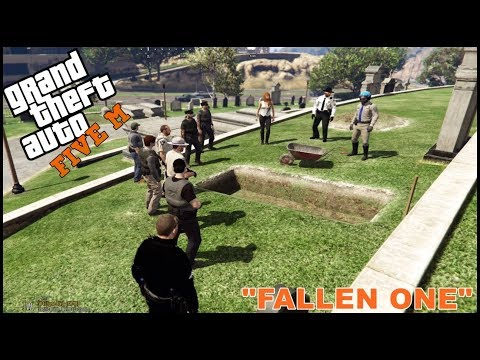 GTA 5 ROLEPLAY - OFFICER'S FUNERAL - EP. 226 - LEO