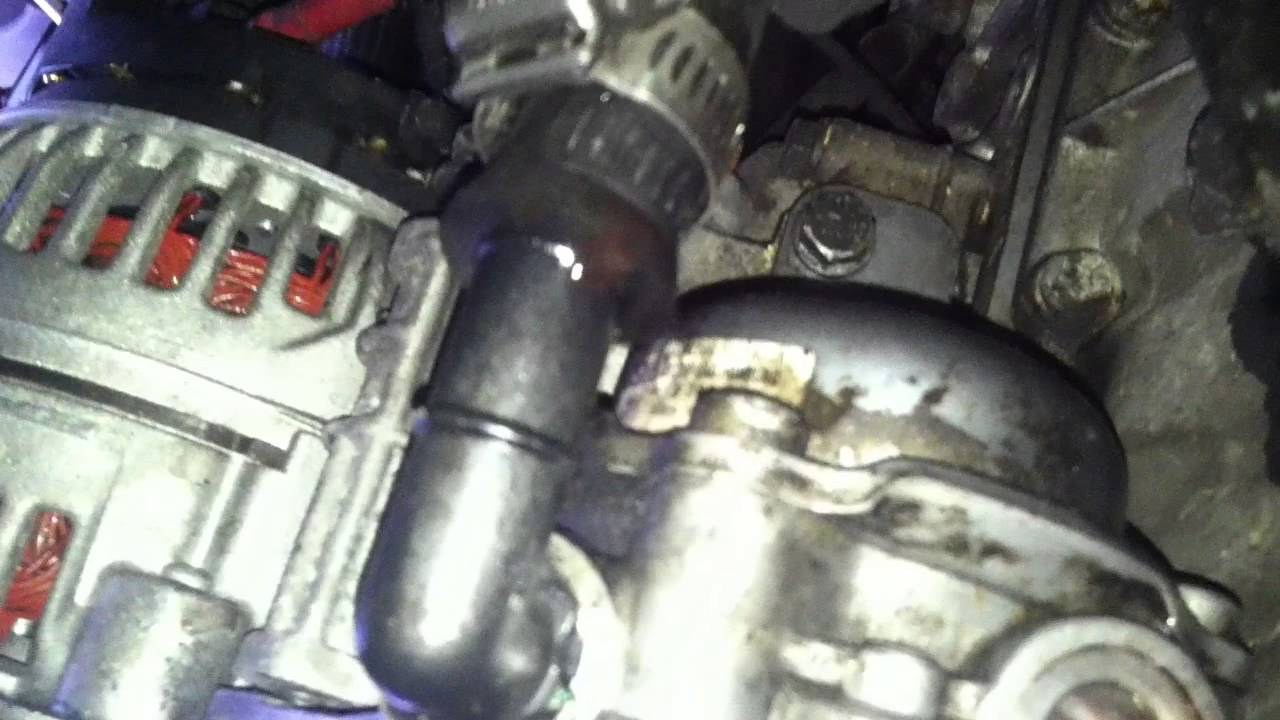 How to remove power steering pump on bmw e46  YouTube