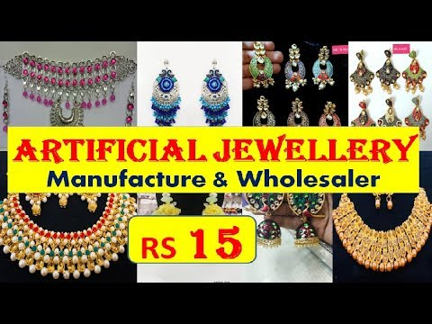 @Rs 15 - Artificial Jewellery - Manufacture & Wholesaler