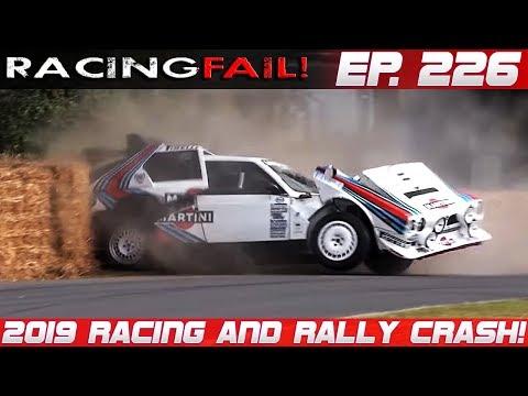 Racing And Rally Crash Compilation 2019 Week 226