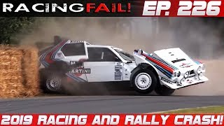 Racing and Rally Crash Compilation 2019 Week 226