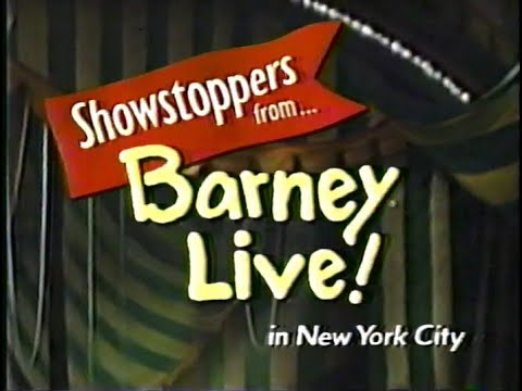 Showstoppers from... Barney Live! in New York City [partial broadcast]