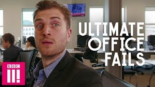 Farting At Work, Strap-Ons & Internet Porn: A Quickie In The Office - Comedy Sketches