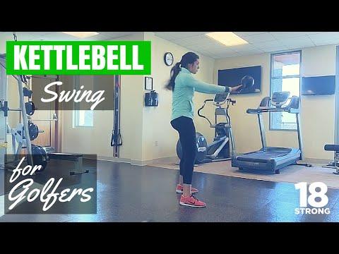 Exercises For Golf – Kettlebell Swing