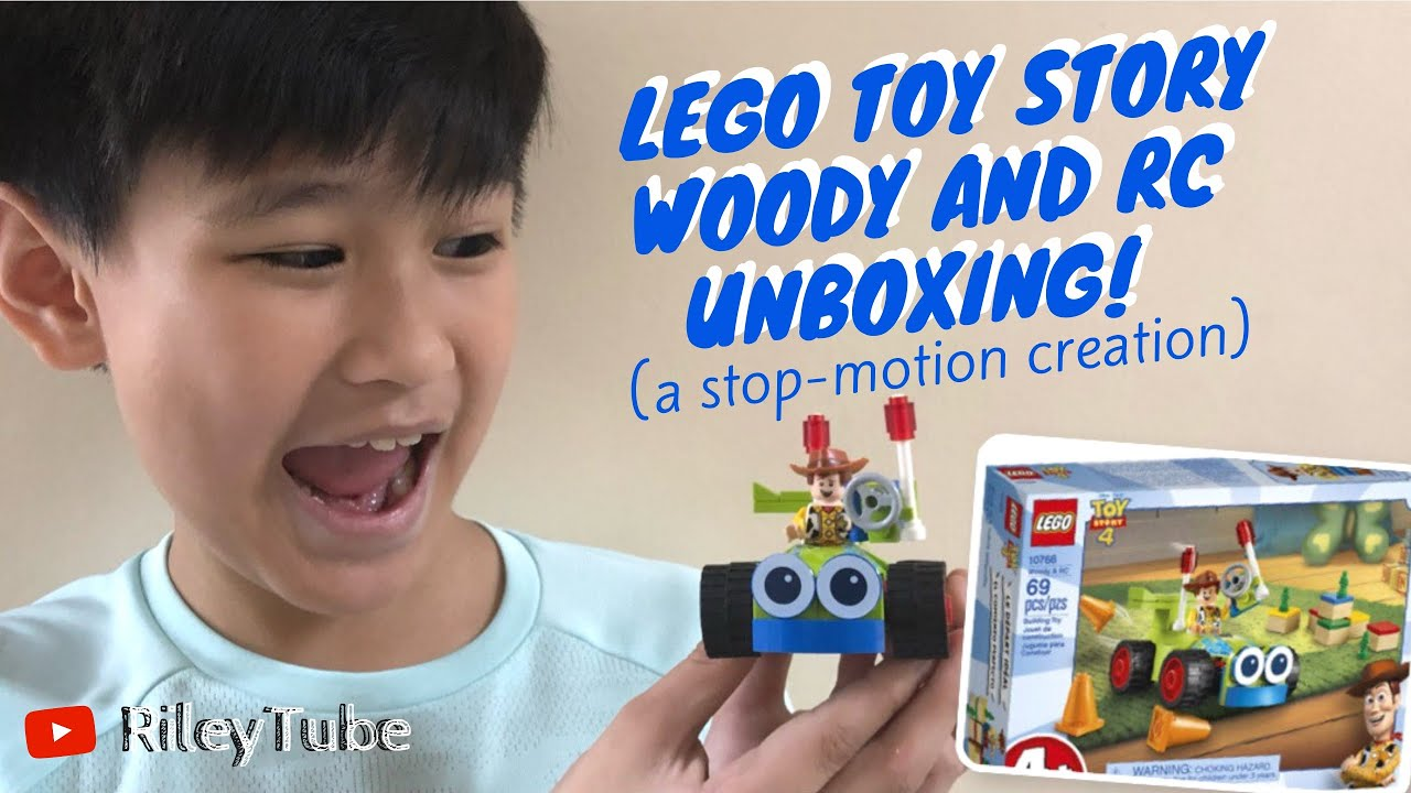 #ToyUnboxingThursday 002 | LEGO TOY STORY WOODY AND RC UNBOXING (Stop-Motion Video) (Philippines)