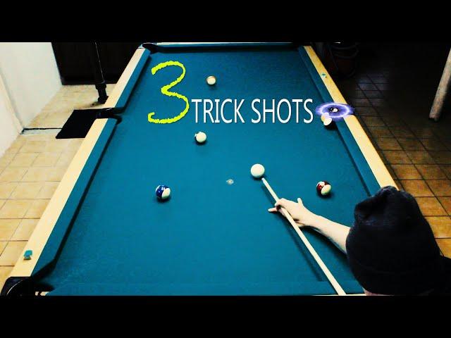 3 Pool Trick Shots: Volume 7