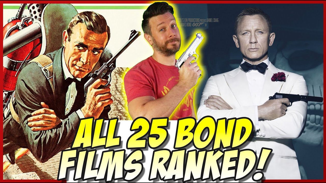 Download All 25 James Bond Films Ranked (Dr. No to No Time to Die)