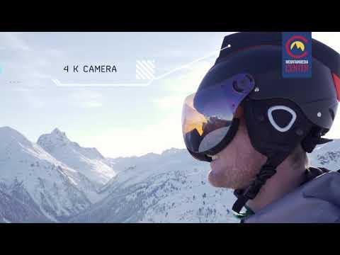 The Mohawk - Smart AR Ski Helmet