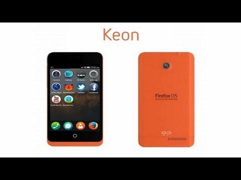 Geeksphone Keon - Firefox OS Smartphone - Demo