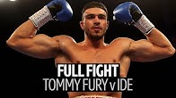 Full Fight: Tommy Fury v Callum Ide | First professional knockout