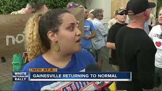 UF returning to normal after white nationalist speech