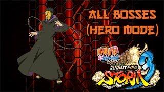 Naruto Shippuden: Ultimate Ninja Storm 3 | ALL BOSSES