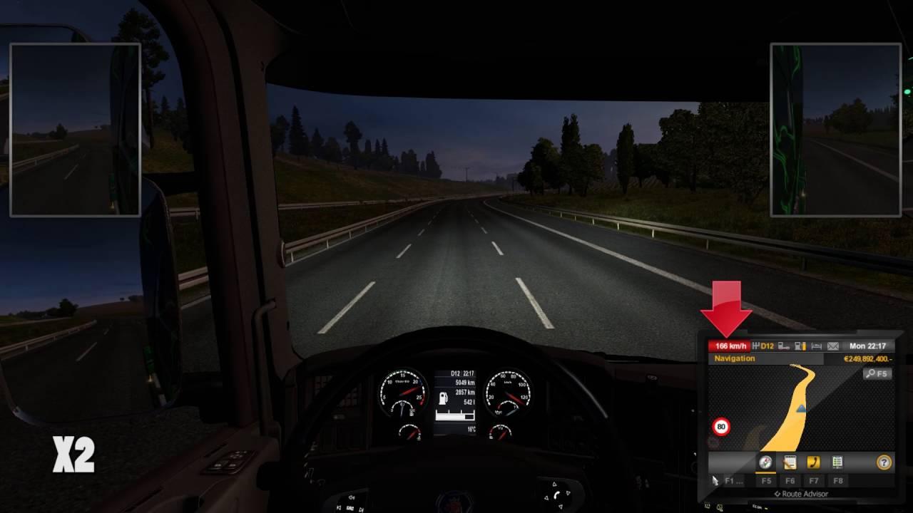 euro truck simulator 2 remove speed limiter youtube. Black Bedroom Furniture Sets. Home Design Ideas