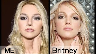 Britney Spears Makeup Transformation