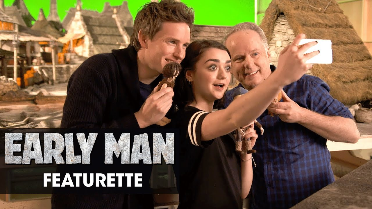 """Download Early Man (2018) Featurette """"Eddie Redmayne and Maisie Williams' Grand Day Out"""""""