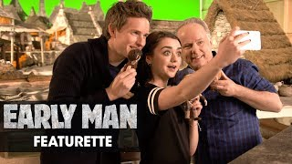 """Early Man (2018) Featurette """"Eddie Redmayne and Maisie Williams' Grand Day Out"""""""