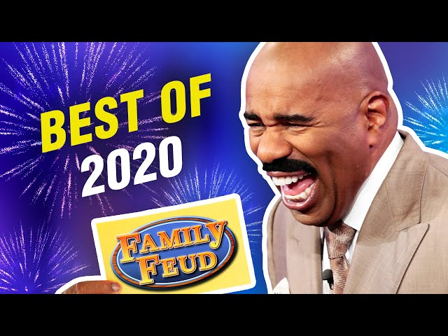 2020's TOP 20 moments! | Family Feud