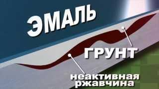 Грунт-эмаль по ржавчине Спецназ(, 2013-10-17T05:31:11.000Z)
