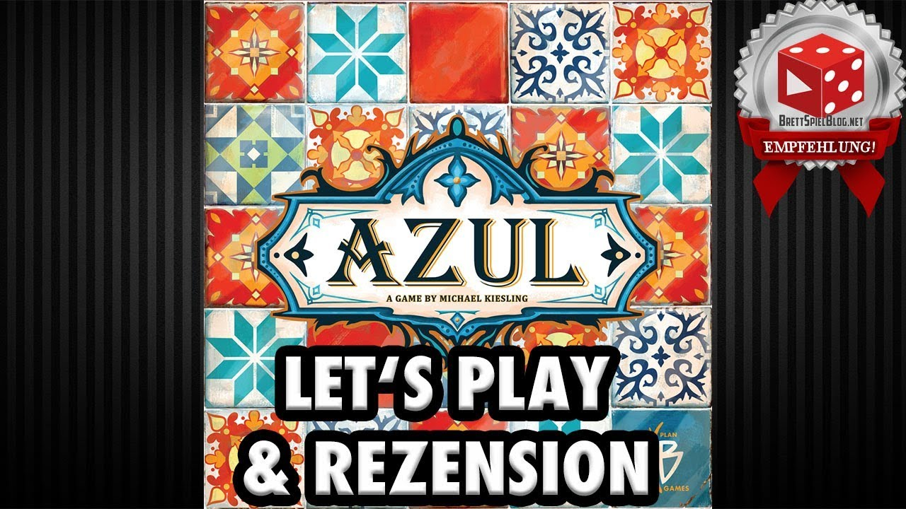 Azul Lets Play Rezension Michael Kiesling Pegasus Brettspiel