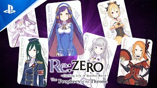 Re:ZERO -Starting Life in Another World- The Prophecy of the Throne - Game Overview Trailer | PS4