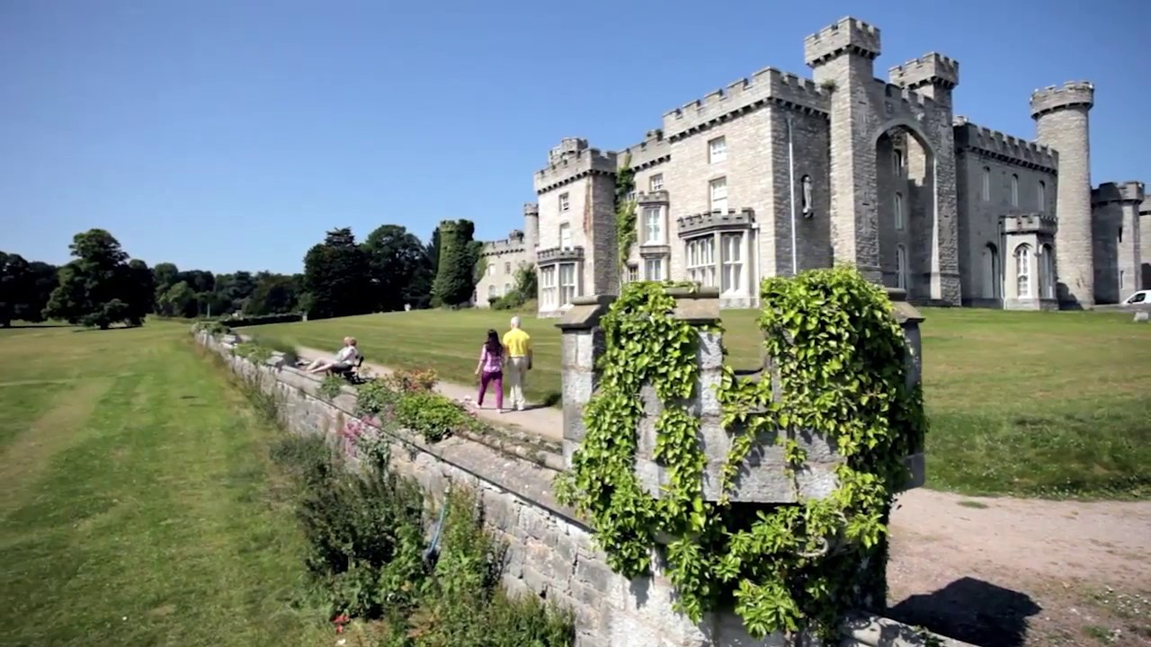 Bodelwyddan Castle, North Wales - YouTube