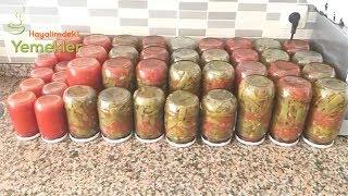 Taze Fasulye Konservesi/Kışa Hazırlık  Konserve Nasıl Yapılır / Hayalimdeki Yemekler
