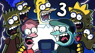 Simpsons Treehouse of Horror - EP 3: Marge Shoot Moe | SpookyMega