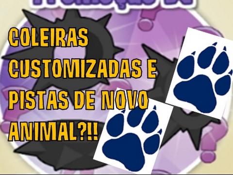 COLEIRAS CUSTOMIZADAS E AS PISTAS DE UM NOVO ANIMAL EM JAMAA?!