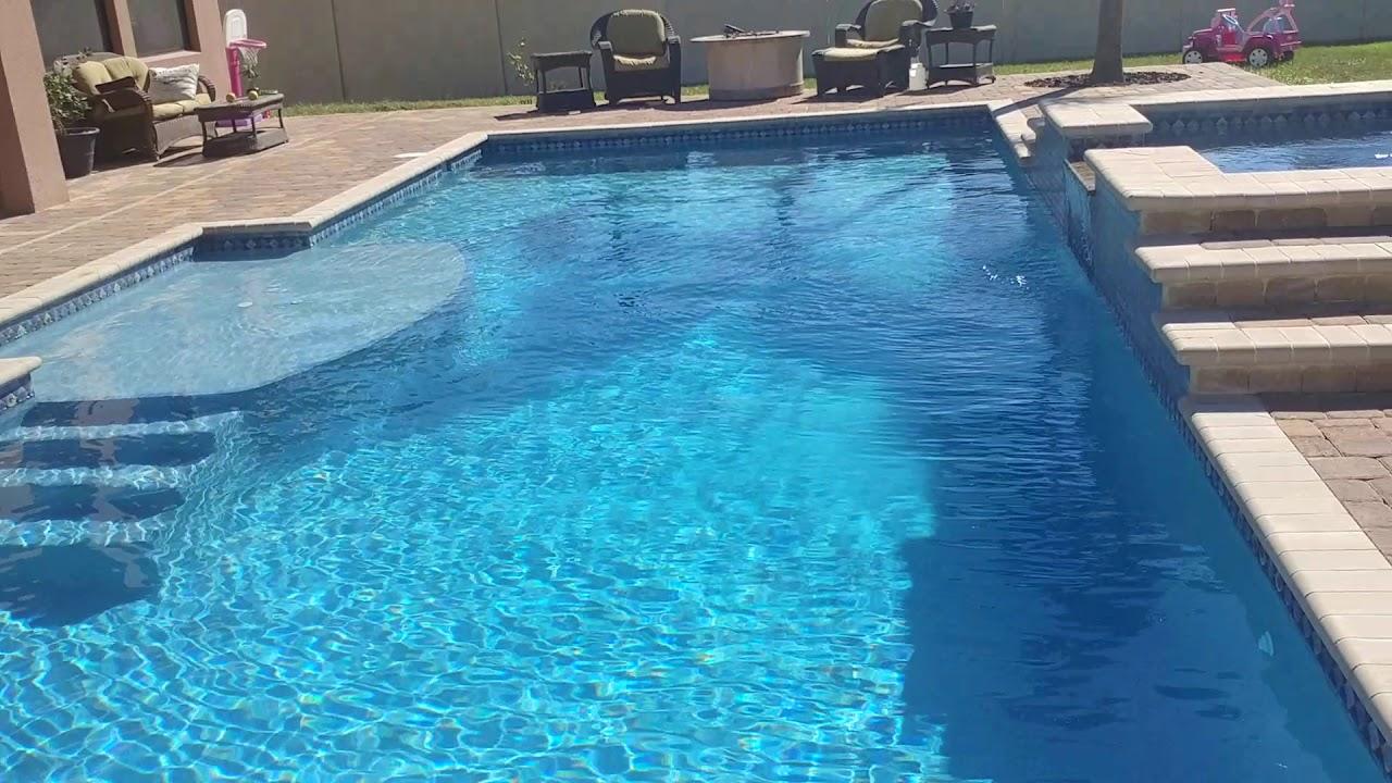 Aqua White Pool Finish Review Stonescapes Minipebble