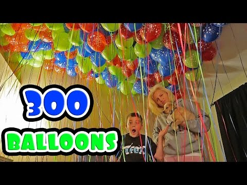 BEDROOM FILLED WITH HELIUM BALLOONS! (PRANK)
