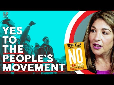 Yes to the People's Movement: Naomi Klein