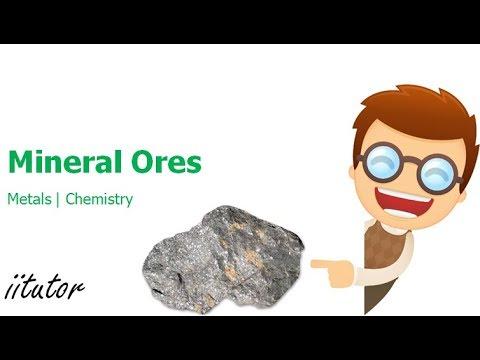 √ Mineral Ores | Metals | iitutor