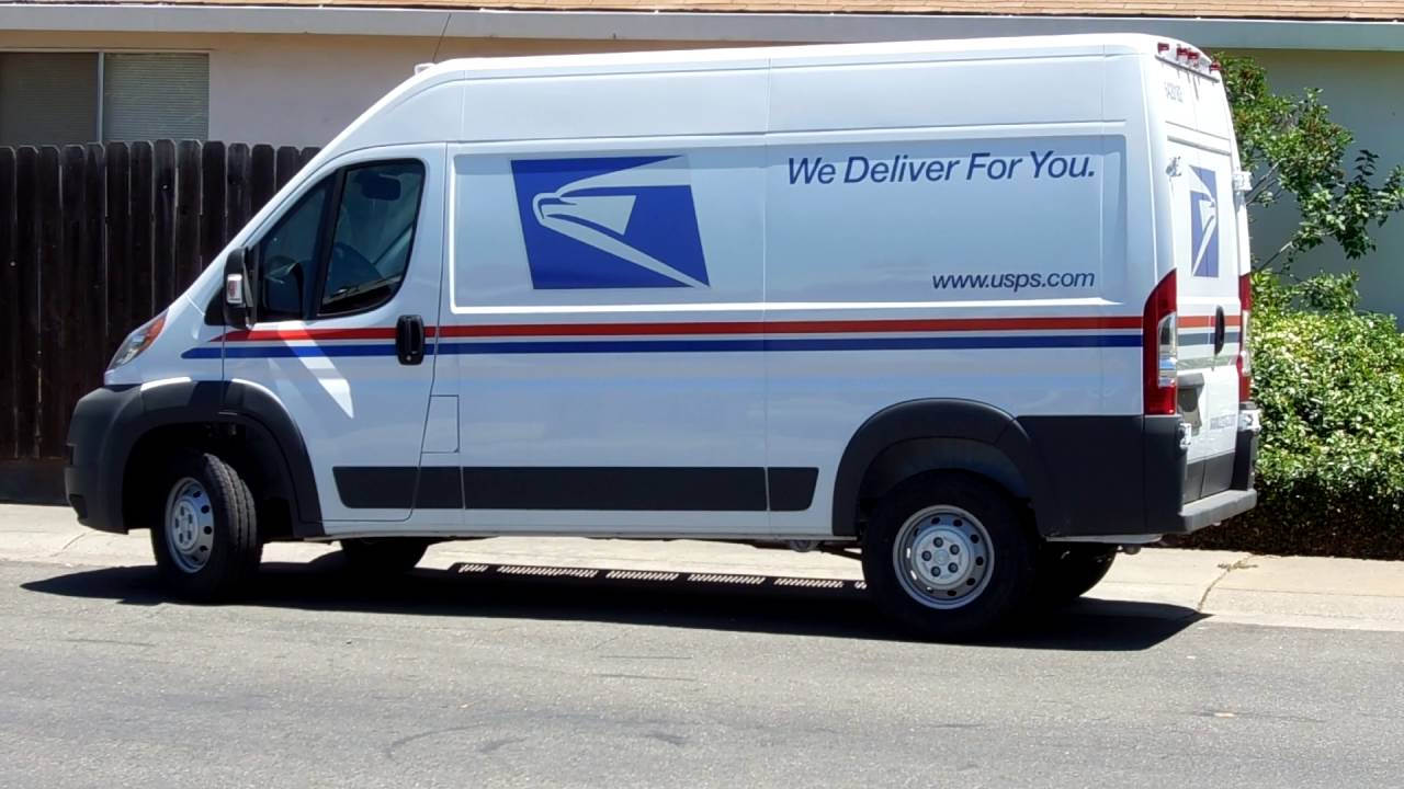 4f0137a345 New USPS Delivery Vehicles ~ ROCK ON!!!!!!! - YouTube