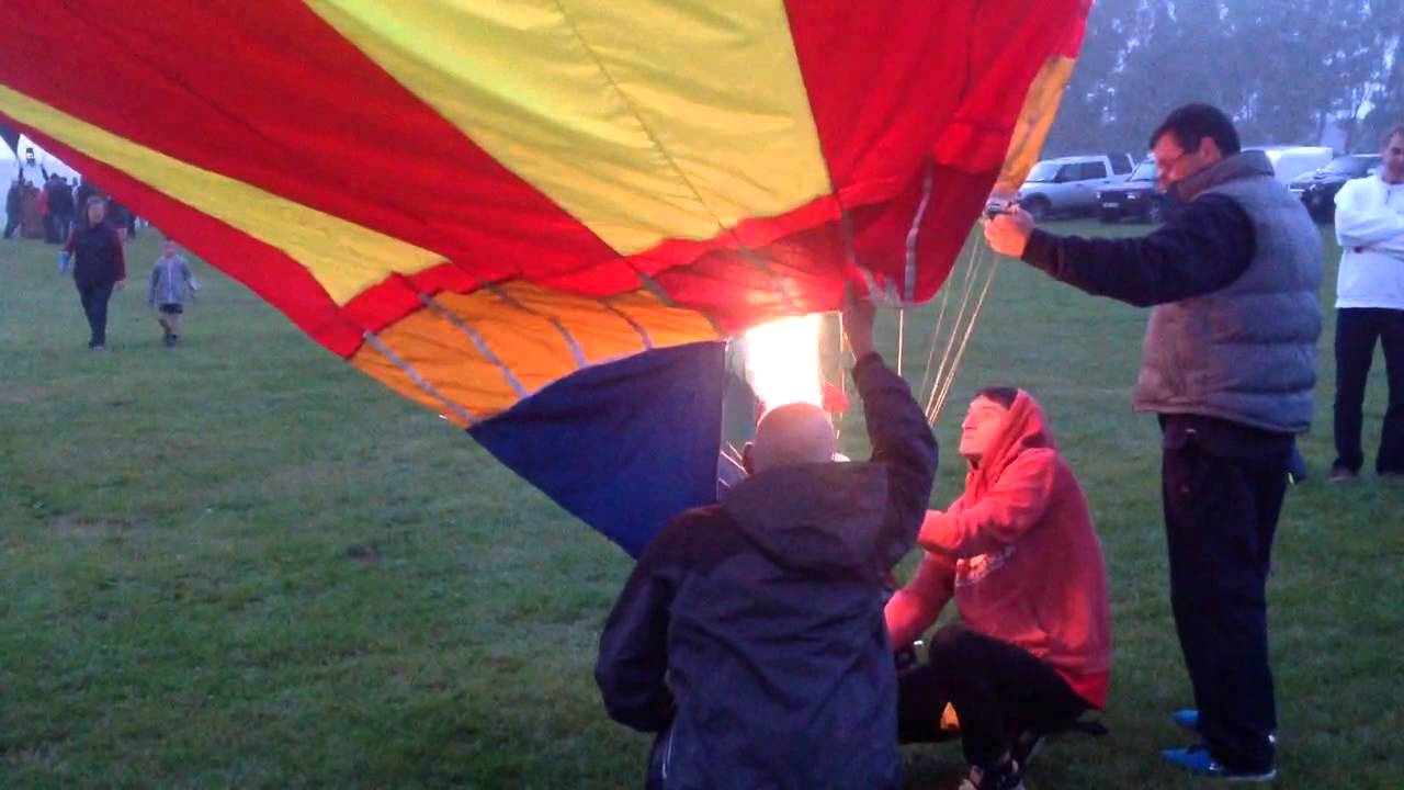 homemade RC hot air balloon enve