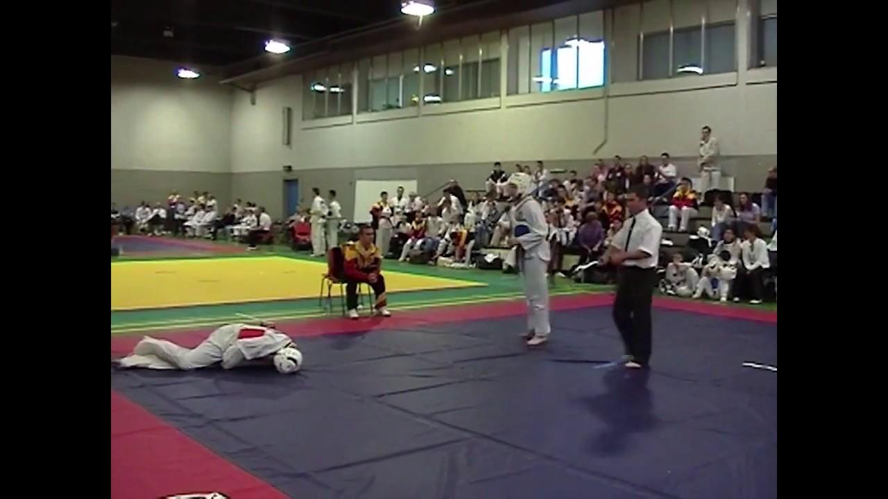 WTF Taekwondo Kick To The Groin