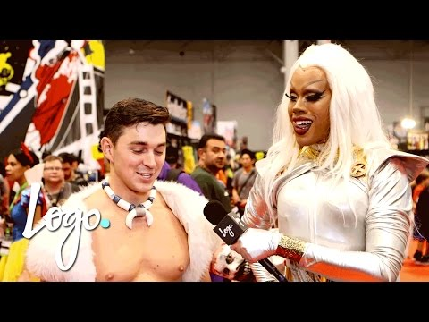 Check Out NYCC 2016 Best Cosplay Costumes by Dax Exclamantionpoint  Logo