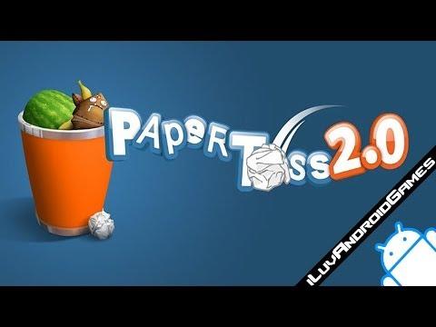 Paper Toss 2.0 Gameplay