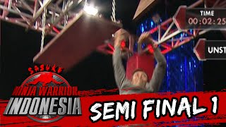 "Agus Anggi Ariyanto ""Gagal Di Unstable Bridge"" [Sasuke Ninja Warrior Indonesia] [3 April 2016]"