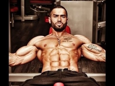 Golds gym - Treino completo de LAZAR Angelov GYM MOTIVATION 2015