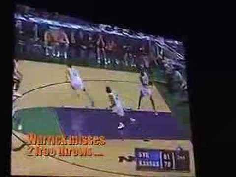Syracuse Beats Kansas 2003 NCAA Nat