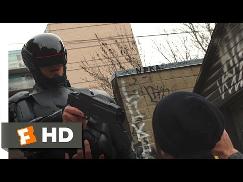 RoboCop (2014) - Drug Bust Simulation Scene (6/10) | Movieclips