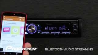 How To - DEH-X4700BT - Bluetooth Audio Streaming