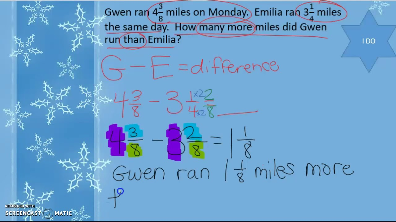 add and subtract mixed numbers practice and homework lesson 6.6