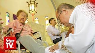 Twelve 'disciples' chosen for Holy Thursday in Penang church