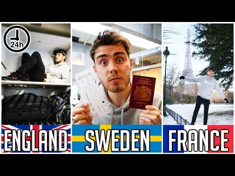 3 COUNTRIES IN 24 HOURS [NO PLANNING]