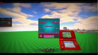 Roblox DS! playing the game!