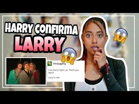 Harry Styles CONFIRMA LARRY en cuenta TUMBLR🙌  MELI SBEIB
