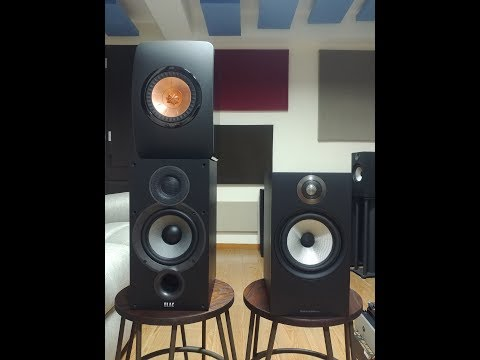 Bowers and Wilkins 606 Review vs. KEF LS50 and Elac Debut B6.2
